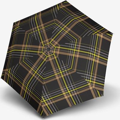 Doppler Parapluie 'Havanna' en mélange de couleurs / noir, Vue avec produit