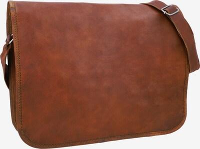 Gusti Leder Schoudertas 'Gusti Leder Taylor 15' in de kleur Bruin, Productweergave