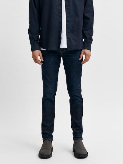 SELECTED HOMME Jeans 'LEON' in dunkelblau, Modelansicht