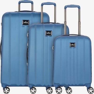 March15 Trading Kofferset in rauchblau, Produktansicht