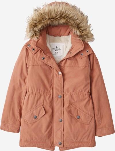 Abercrombie & Fitch Veste d'hiver en marron, Vue avec produit