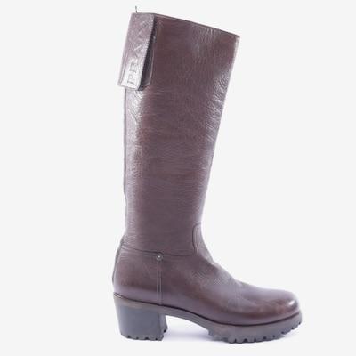PRADA Dress Boots in 38,5 in Brown, Item view