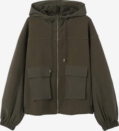 MANGO Sweatjacke 'CARI' in khaki, Produktansicht