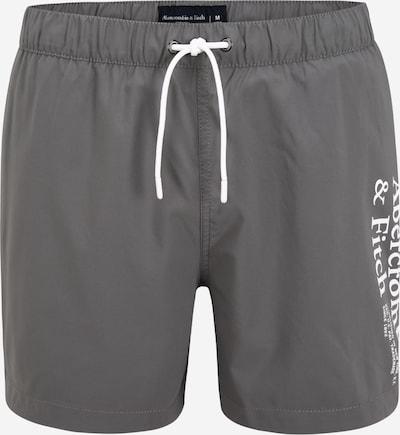 Abercrombie & Fitch Bermudas en gris / blanco, Vista del producto