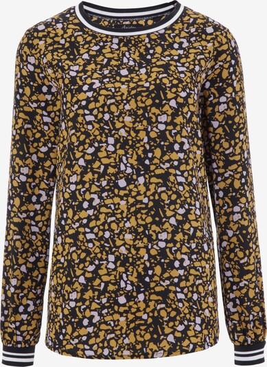 Aniston CASUAL Bluse in ocker / schwarz / weiß, Produktansicht