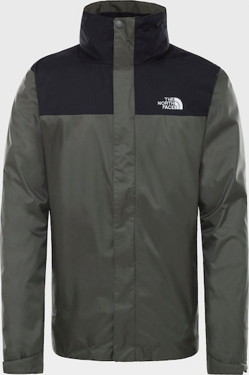 THE NORTH FACE Veste outdoor ' EVOLVE II TRICLIMATE ' en gris, Vue avec produit