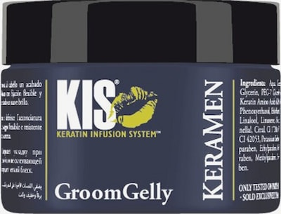 Kis Keratin Infusion System Haargel 'KeraMen' in weiß, Produktansicht