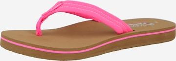 SKECHERS T-Bar Sandals 'Bobs Sunset' in Pink