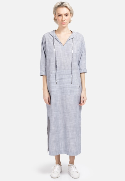 HELMIDGE Hemdblusenkleid in grau, Modelansicht