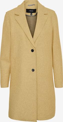 VERO MODAPrijelazni kaput 'Paula' - žuta boja