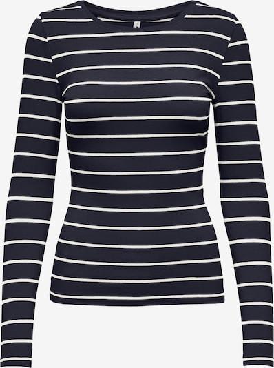 Tricou 'Fifi' ONLY pe albastru noapte / alb, Vizualizare produs