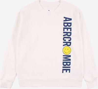 Abercrombie & Fitch Shirt in de kleur Blauw / Geel / Wit, Productweergave