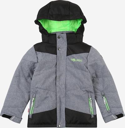 TROLLKIDS Funkční bunda - šedá / antracitová, Produkt