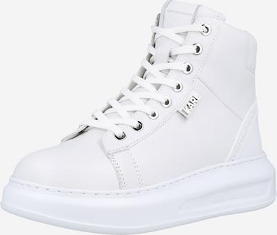 Karl Lagerfeld Schnürstiefelette 'Kapri' in weiß, Produktansicht