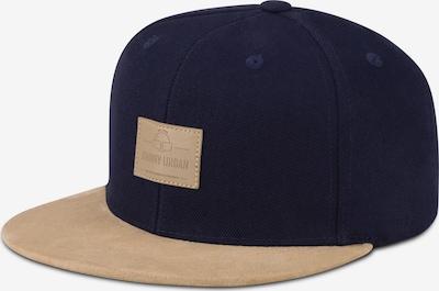 Johnny Urban Cap 'Dean' in sand / dunkelblau, Produktansicht