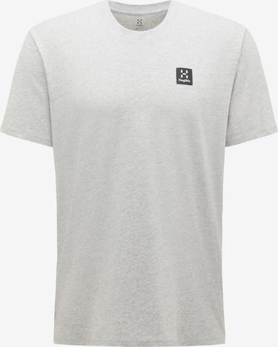 Haglöfs Functioneel shirt 'Camp' in de kleur Grijs / Zwart, Productweergave