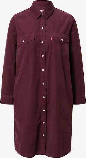 Palaidinės tipo suknelė 'Selma' iš LEVI'S , spalva - vyno raudona spalva, Prekių apžvalga