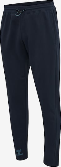 Hummel Sportbroek 'Action' in de kleur Navy / Smoky blue, Productweergave