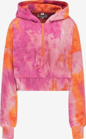 myMo ATHLSR Sweatshirt in de kleur Sinaasappel / Pink / Lichtroze, Productweergave