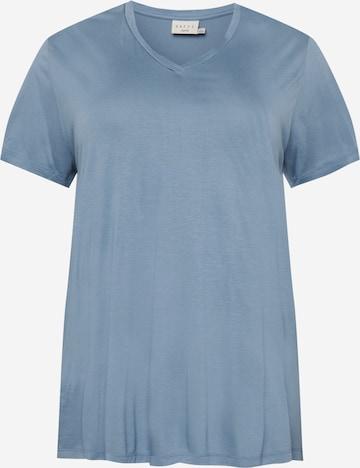 KAFFE CURVE Shirt in Blauw