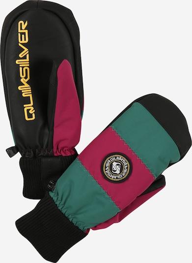 QUIKSILVER Sporthandschuhe 'METHOD MITT' in grün / pink / schwarz, Produktansicht