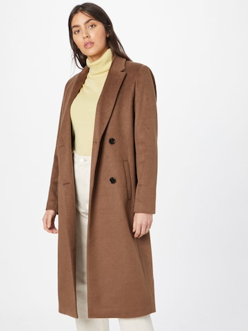 modström Between-Seasons Coat 'Odelia' in Brown