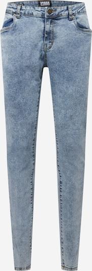Jeans Urban Classics Plus Size pe albastru denim, Vizualizare produs