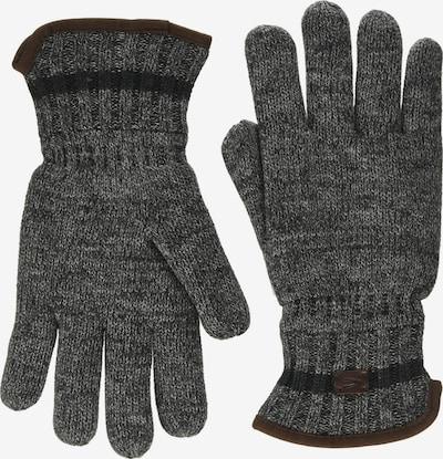CAMEL ACTIVE Vingerhandschoenen in de kleur Bruin / Grijs, Productweergave