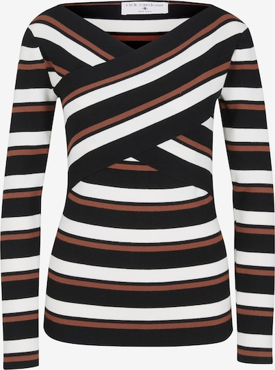 heine Sweter w kolorze brązowy / czarny / białym, Podgląd produktu