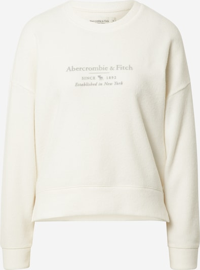 Abercrombie & Fitch Sweater majica u siva / bijela, Pregled proizvoda