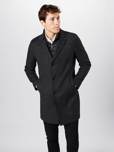 Palton de iarnă STRELLSON pe negru, Vizualizare model