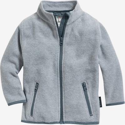 PLAYSHOES Veste en polaire en gris / gris basalte, Vue avec produit