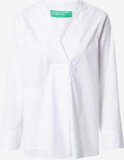 UNITED COLORS OF BENETTON Pusero värissä valkoinen: Näkymä edestä