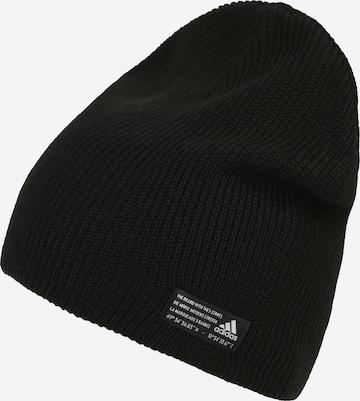 juoda ADIDAS PERFORMANCE Sportinė kepurė