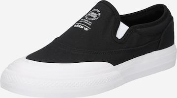 ADIDAS ORIGINALS Slip-Ons 'Nizza' in Black