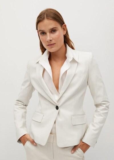 MANGO Blazer 'Cofi7' in beige, Modelansicht