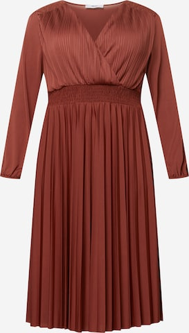 ABOUT YOU Curvy Kleid 'Natasha' in Rot