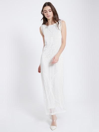 Ana Alcazar Maxikleid ' Agna ' in weiß, Modelansicht