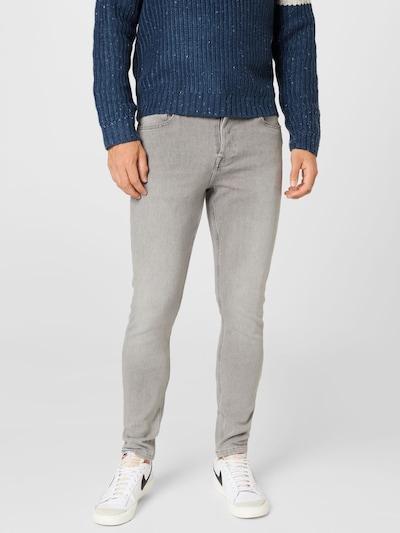 Only & Sons Jeans in de kleur Grijs / Lichtgrijs, Modelweergave