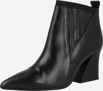 Chelsea Boots GOLD en noir