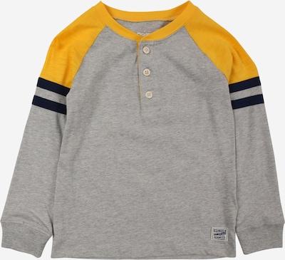 OshKosh Shirt in marine / goldgelb / graumeliert, Produktansicht
