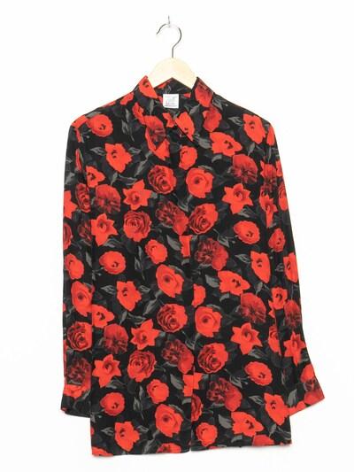 ALBA MODA Blumenbluse in XL in schwarz, Produktansicht