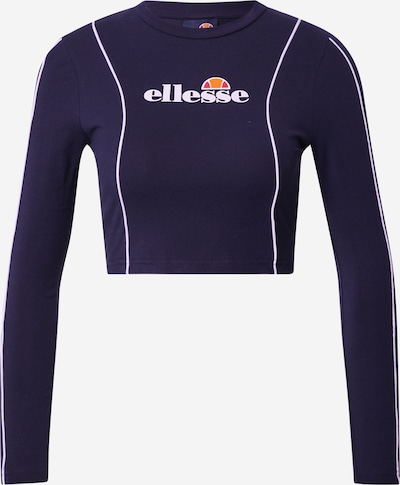 Tricou 'Russia' ELLESSE pe bleumarin / portocaliu / roșu / alb, Vizualizare produs