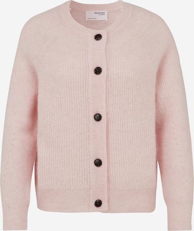 Selected Femme Petite Pletena jopa | svetlo roza barva, Prikaz izdelka