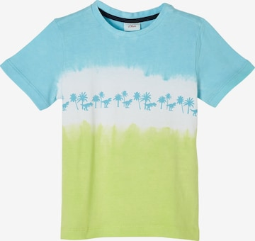 s.Oliver T-Shirt in Blau