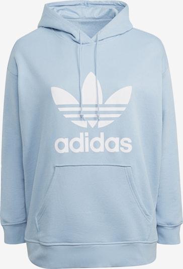 ADIDAS ORIGINALS Sweatshirt in Smoke blue / White, Item view