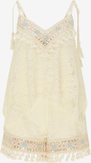 IZIA Top und Shorts im Set in beige, Produktansicht