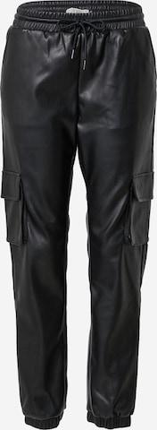 Cars Jeans Klapptaskutega püksid 'LIVY', värv must