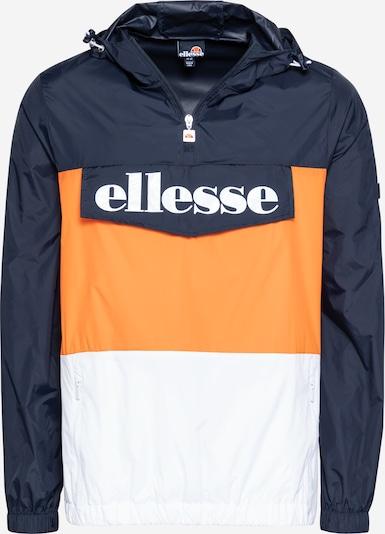ELLESSE Tussenjas 'Domani' in de kleur Navy / Sinaasappel / Wit, Productweergave