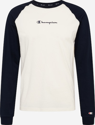 Tricou Champion Authentic Athletic Apparel pe navy / offwhite, Vizualizare produs
